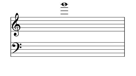 note scale with one very high note